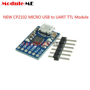 CP2102-MICRO-USB-to-UART-TTL-Module-6Pin-Serial-Converter-STC-Replace-FT232-UK