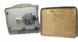 1950s KODAK BROWNIE MOVIE PROJECTOR vintage 8mm film player MODEL NO. 1 works!