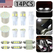 14pcs White Led Interior Package Kit T10 31mm Map Dome License Plate Lights Fits 2002 Mitsubishi Eclipse