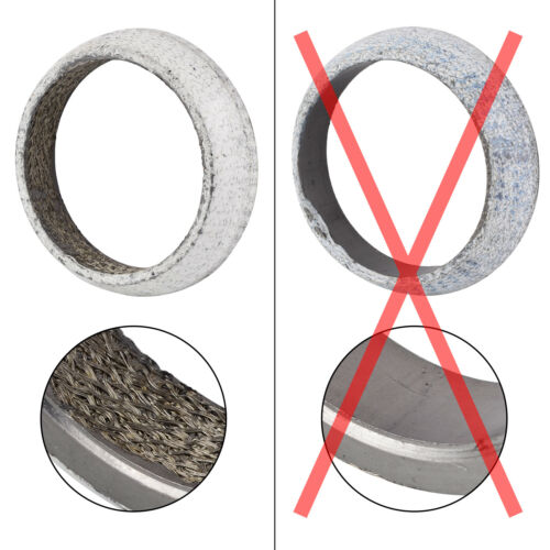 "Stainless Steel 2.5/"" Exhaust Donut Collector Gasket For Honda Acura BXFL-00060"