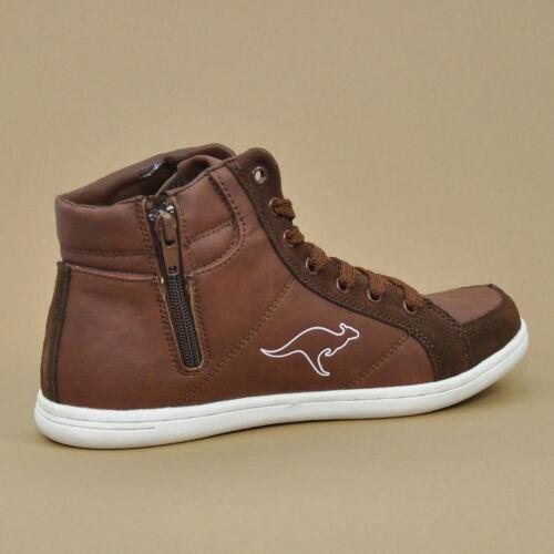KangaROOS Adrienne HighTop Sneaker Schuhe Cognac//White 1181A 360