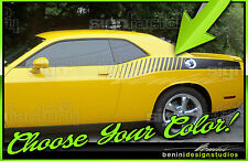 Side Quarter Stripes Strobe Fits Dodge Challenger Rt Srt 2009 2014 2015 2020
