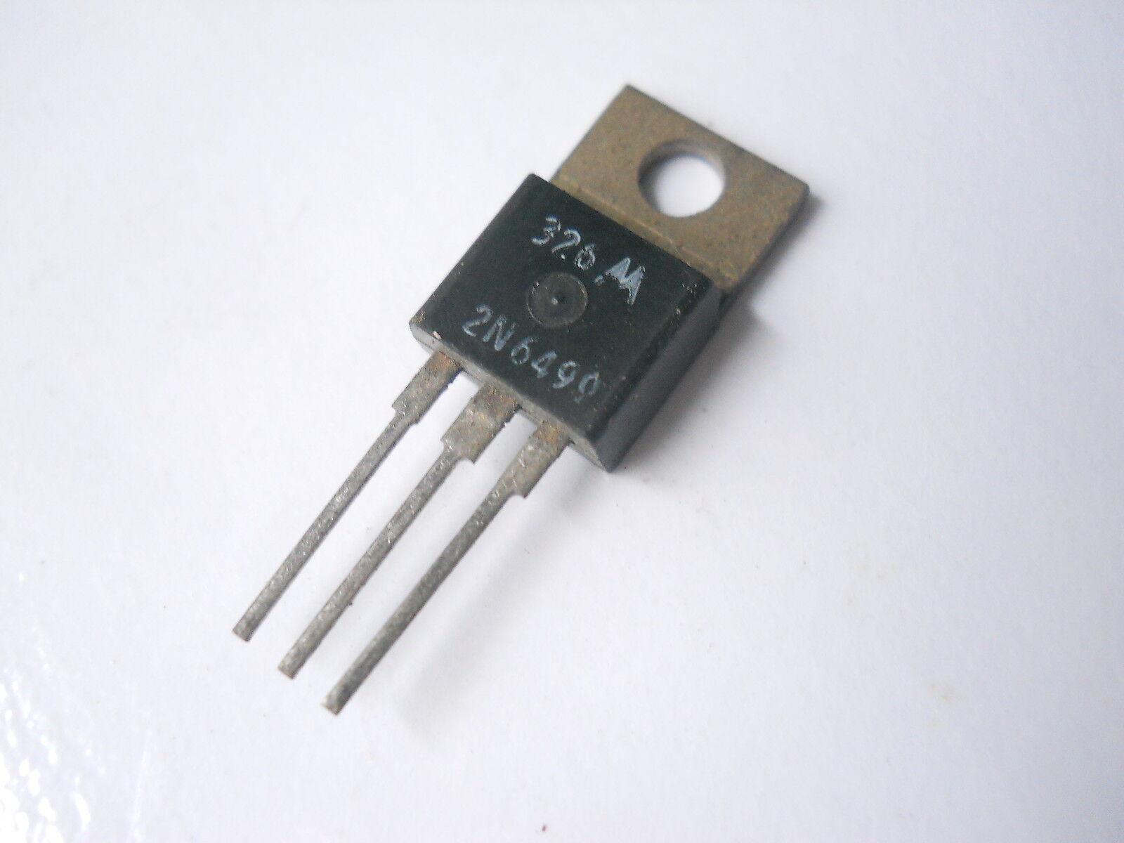 O28 QTY 5 ea 2N6055 NPN Darlington Power Transistor 60 Volt 8 Amp