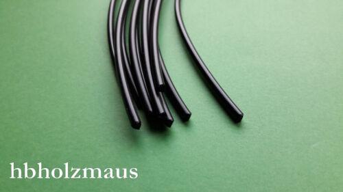 5 Stäbe je 1000mm Länge Kunststoffschweißdraht PE-HD Schwarz Ø 4 mm 0,60€//m