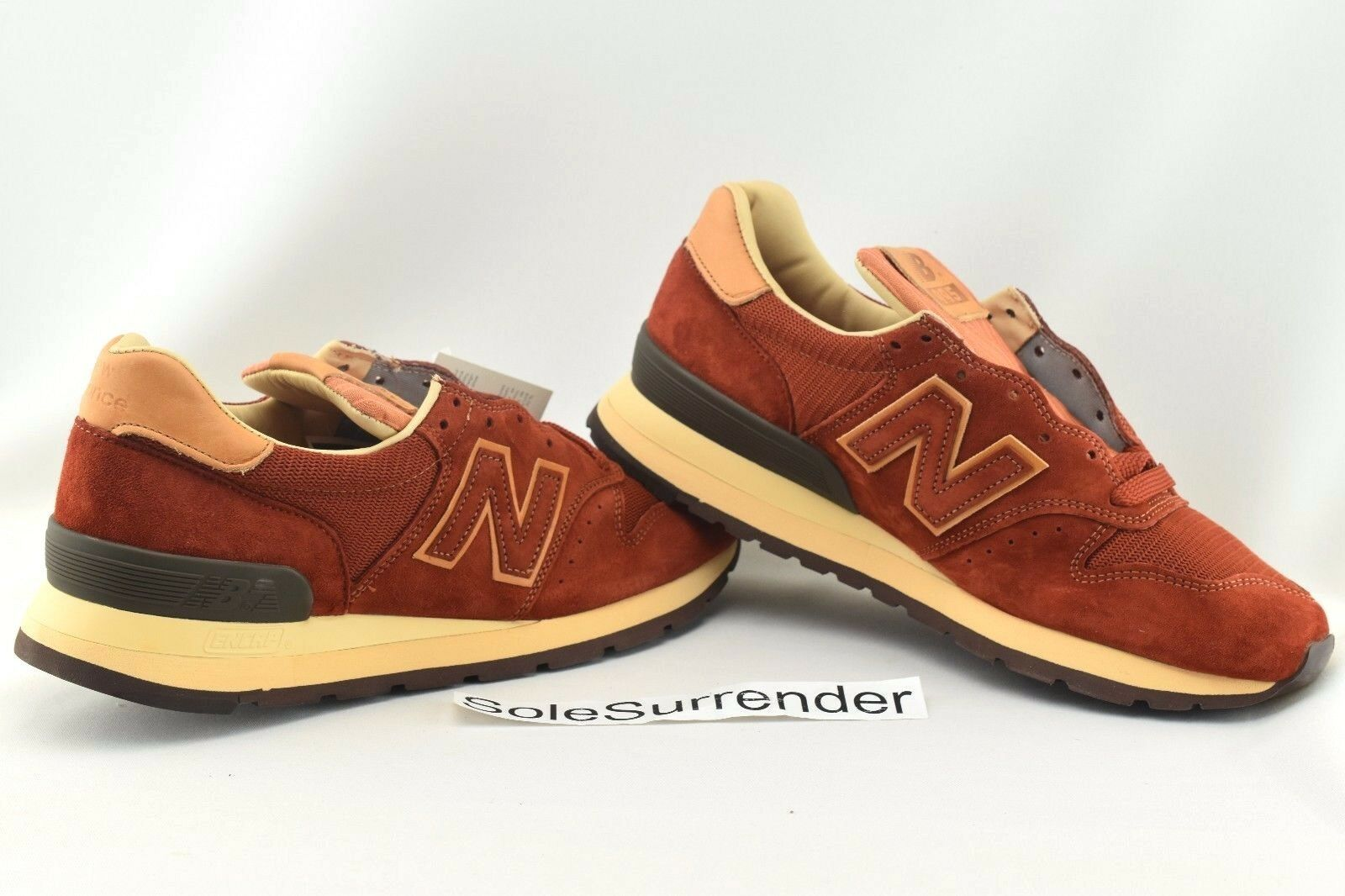 New Balance 995 Baseball Pack m995dbg - tamaño 10 - m995dbg Pack Todd Snyder Rust tan Marrón USA 319069