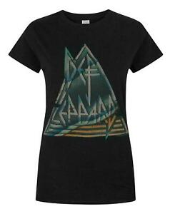 Def-Leppard-Pyramid-Women-039-s-T-Shirt