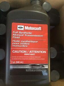 1-Genuine-Ford-Motorcraft-Full-Synthetic-Manual-Trans-Fluid-XT-M5-QS-One-Quart