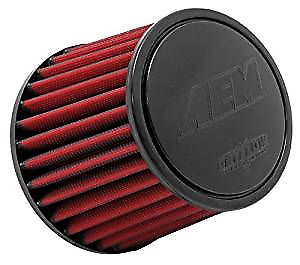 AEM 21-203DK Universal DryFlow Clamp-On Air Filter Round Tapered