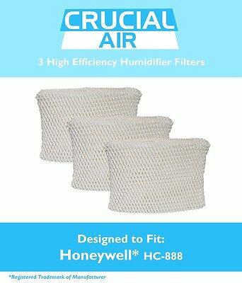3 REPL Honeywell Duracraft HC888 Humidifier Filter Part # DCM 200 DH 888 | eBay
