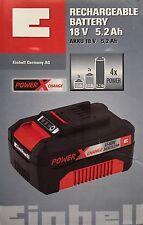 Einhell Power-X-Change 18 Volt Sistema Batteria agli ioni litio (Li-Ion) 5.2 Ah