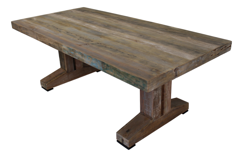 Esstisch Massivholztisch Klostertisch - Altes Java Holz - Unikat