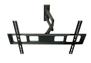 FULL-MOTION-LCD-LED-TV-WALL-MOUNT-BRACKET-SWIVEL-TILT-40-42-46-50-55-60-65-70