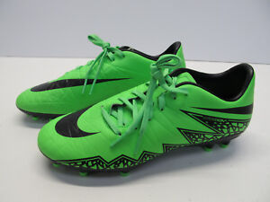 c3c8d0ab1b48 NEW MENS NIKE HYPERVENOM PHELON II FG GREEN STRIKE SOCCER CLEATS