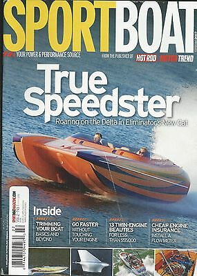 Sport Boat magazine Eliminator 27 speedster Trimming Cheap engine insurance