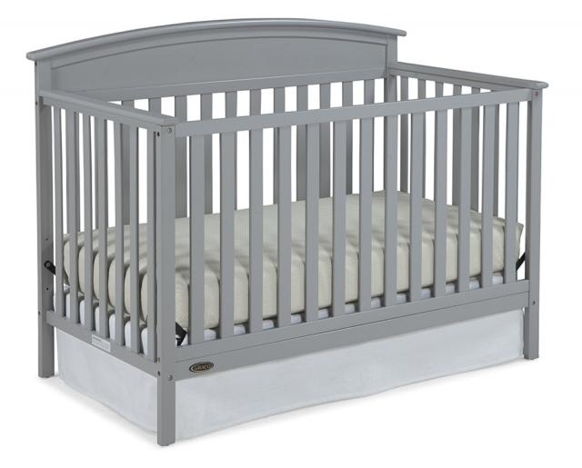 Graco Benton 4-in-1 Convertible Crib - Easily Converts to To
