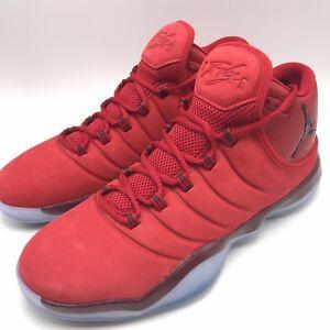 pretty nice cd7aa 7c548 Image is loading Nike-Jordan-Super-Fly-2017-Gym-Red-Black-