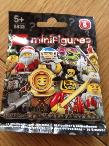 LEGO SERIES 8 BUSINESS MAN SEALED