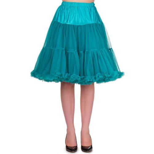 Starlite Türkis Banned Retro Vintage Rockabilly Unterrock Tüllrock Petticoat