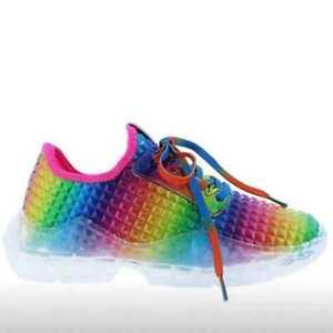 Damen Bunt Laufschuhe Freizeitschuhe Turnschuhe Sportschuhe Running Sneaker