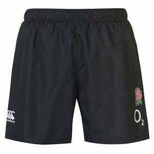 Canterbury-Para-Hombre-Pantalones-Cortos-De-Tejido-Inglaterra-Rugby-Pantalones-Pantalones-Ligero