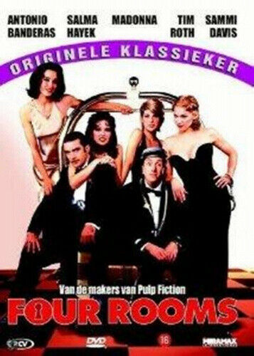 Four Rooms (1995) ( 4 Rooms and a Hotel ) [ NON-USA FORMAT, PAL, Reg.2 Import