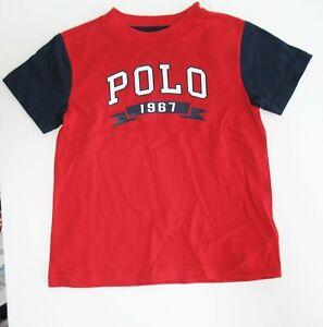 Polo-Ralph-Lauren-Toddler-Boys-Americana-Jersey-T-Shirt-Red-Sz-2-2T-NWT