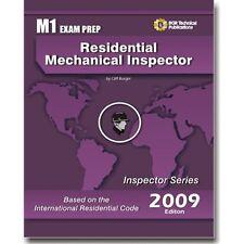 M1  ICC Residential Mechanical Inspector Exam Questions Test  Workbook 2009