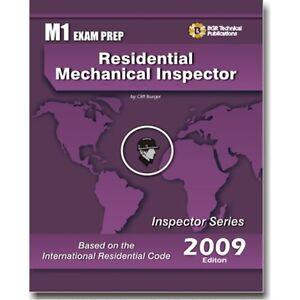 m1 icc residential mechanical inspector exam questions test workbook rh ebay com Sat Study Guide Sat Study Guide