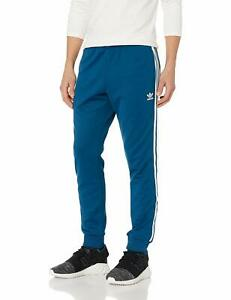 Details about Men's adidas SUPERSTAR Track Pants Blue DV1533