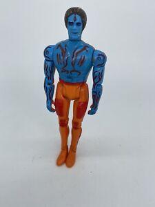 Adam-Power-Lords-Action-Figure-Vintage-Toy-1982-Revell-6-034-1980s-80s-Retro-Orange