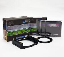Formatt Hitech 85 metallo Holder Kit di densità neutro C/W Holder, 3xnd FILTRI, ANELLO