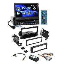 """Planet Audio 7"""" Touchscreen Car Stereo Dash Kit Harness for 2000+ GM Chevrolet"""