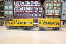 MB 1632 Kofferlastzug von Verpoorten in OVP (Wiking/F,BB/L 209-11