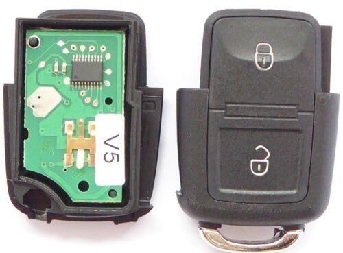 Unidad de transmisión clave 433 MHz control remoto 1j0959753n VW Bora Polo