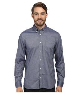 Image is loading New-Men-039-s-Lacoste-Shirt-Plain-Black-