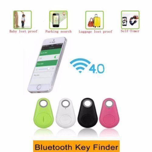 Smart Finder Bluetooth Pet Child GPS Locator Tag Alarm Wallet Key Tracker DHL SP
