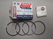 Yamaha 180 YCS1 CS1 piston ring set 4 rings +1.00mm o/s 164-11601-40 genuine NOS