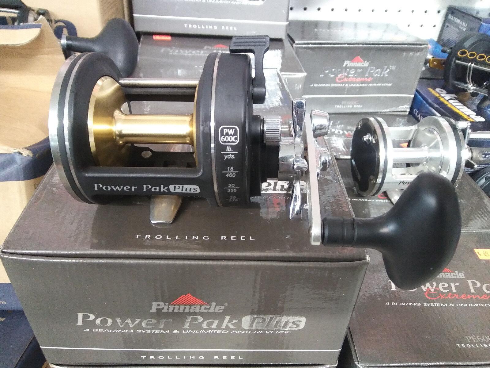 Nuevo Pinnacle 600C Power Plus Reel De Pesca