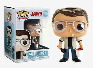 Funko Pop Movies: Jaws -Chief Brody Vinyl Figure #38554