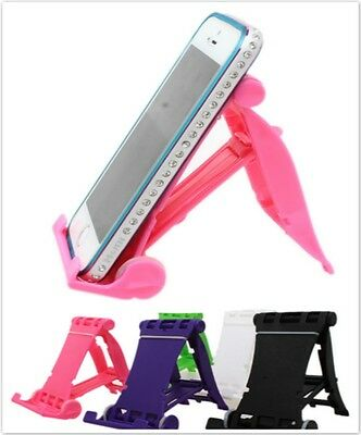 Universal Portable Collapsible Travel Desk Folding Stand Holder For Cellphone JJ
