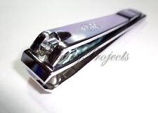 Straight Edge Nail Clipper Finger Toe Cutter Trimmer Stainless Steel 1pc -Korea