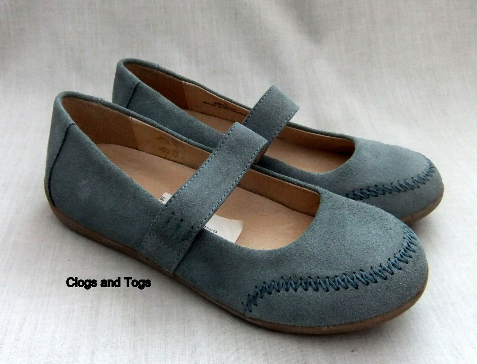 NEW CLARKS GASP WOMENS blueE SUEDE SHOES SIZE 4   37