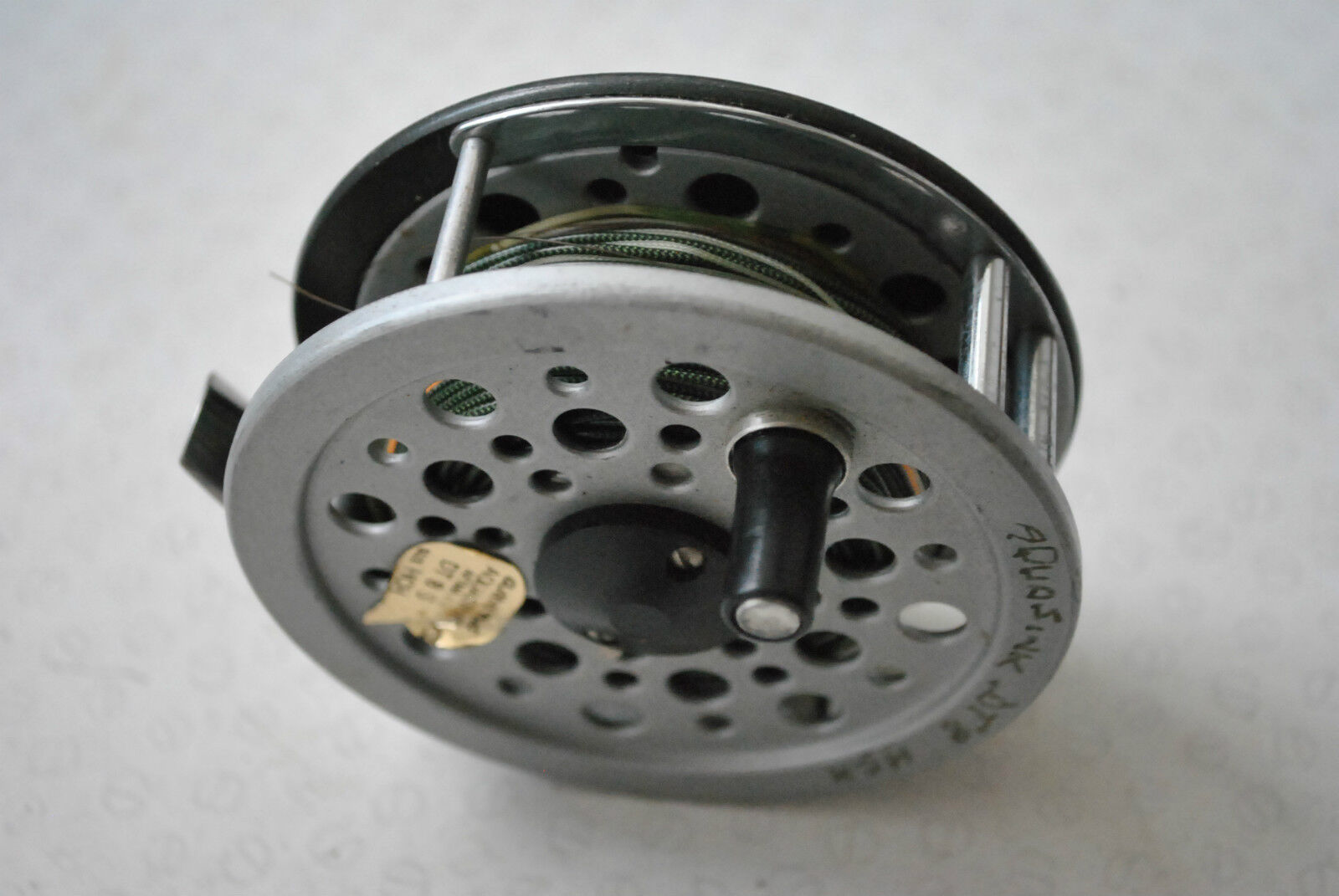 A VERY GOOD SHAKESPEARE  BEAULITE 3 5 8 TROUT FLY REEL & LINE  official authorization