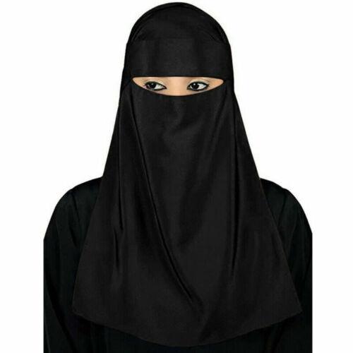 Niqab Muslim Hijab Islamic Ramadan Veil Burqa Burka Nikab Prayer Scarf Shawl