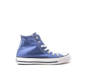 separation shoes 4ec54 19c12 Details about Shoes CONVERSE Woman Sneakers BLU Fabric 164397C