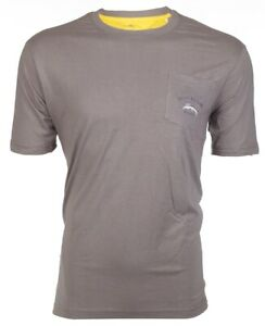 TOMMY-BAHAMA-Mens-T-Shirt-BALI-HIGH-TIDE-POCKET-Embroidered-BURN-GREY-Relax-48