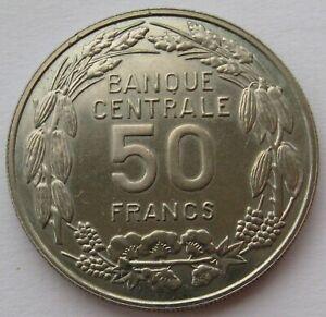 Cameroon-50-Francs-1960-ESSAI-UNC-Condition
