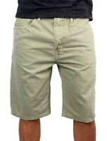 Levi's 508 Men's Premium Cotton Regular Taper Shorts Straight Fit 508-khaki