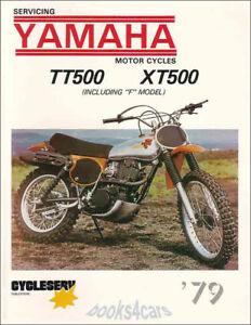 image is loading shop-manual-tt500-xt500-service-repair-yamaha-book-