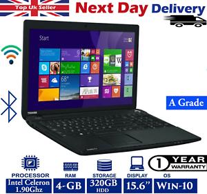 Toshiba-Satellite-C50-A-146-15-6-034-Laptop-Intel-Celeron-4GB-RAM-320GB-HDD-Win-10